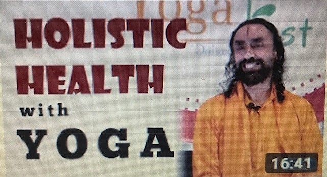 Yoga day speech